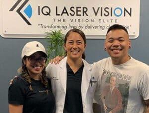 AJ Rafael with Dr. Liu