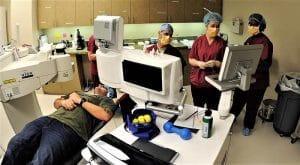 LASIK procedure room