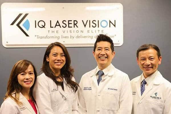 iq laser vision staff